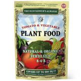Tomato and vegetable plant food, 2 1/4 pound bag