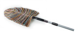 Hand duster with telescoping handle, made in Vermont from real wool