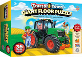 36 piece floor puzzle for kids over 3 years old, Giant Tractor