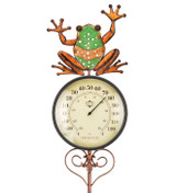 Thermometer Stake - Frog