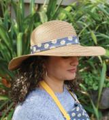 Crushable Sun Hat - Daisy