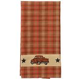 Rustic Fall Truck - Hand or Dish Towel