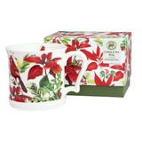 Coffee & Tea Mug - Poinsettia