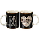 Jumbo Mug - No One Is Sent To Us By Accident