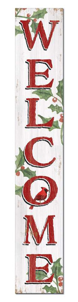 4 Foot Porch Board - Cardinal Holly