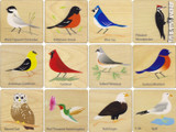 Memory Tiles - Birds
