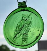 Old Hancock Owl Suncatcher