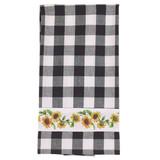 Sunflower Check Towel