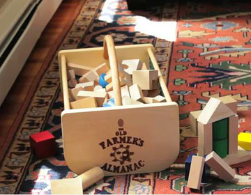 Organize small toys in a handy hod