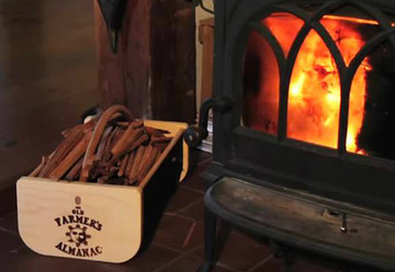 Keep kindling and fire starters organized with a hod