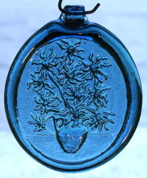 Old Hancock Van Gogh Vase Suncatcher