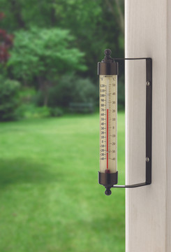 Original Vermont Outdoor Thermometer - Bronze Patina