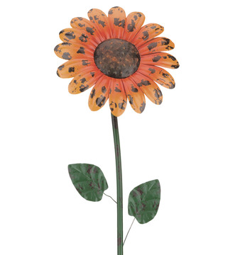 "Rustic Flower Stake 46"" - Daisy"