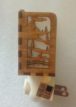 Village Craftsman Wooden Night Lights - Cow