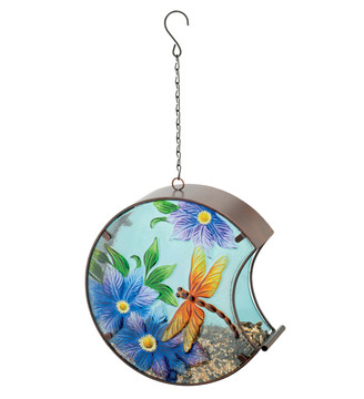 Hand-Painted Bird Feeder - Dragonfly