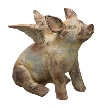 Flying Pig Statue