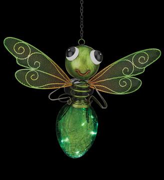 Solar Dragonfly Lantern - Green