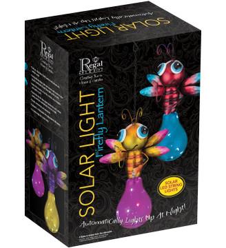 Solar Firefly Lantern - Yellow