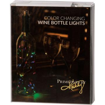Wine Bottle Lights - Multicolored Twinkle