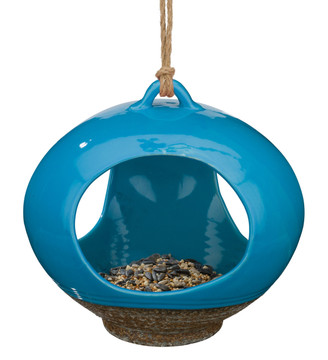 Ceramic Bird Feeder - Large Drop