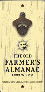 The Old Farmer's Almanac Bottle Opener