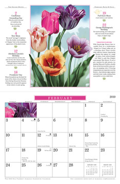The 2019 Old Farmer's Almanac Gardening Calendar