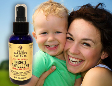 Deet-Free and Family Safe Insect Repellent