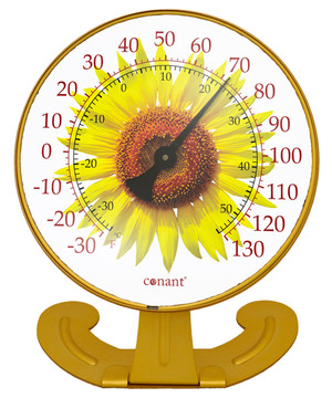 Sunflower Large Convertible Thermometer