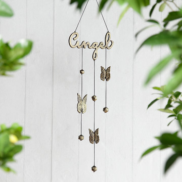 Angel Windchime with Angel Wings