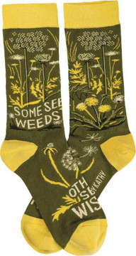 Socks - Some See Weeds Others See Wishes