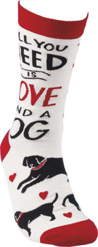 Socks - All You Need Is Love And A Dog