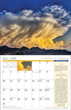 2020 Almanac Weather Calendar