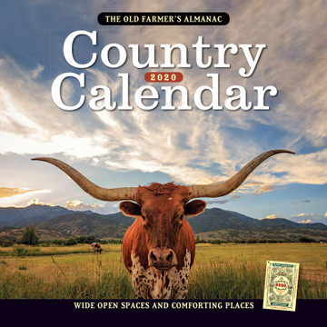 The 2020 Old Farmer's Almanac Country Calendar