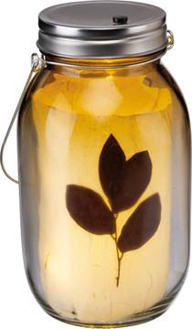 Mason Jar Light Set - Botanical