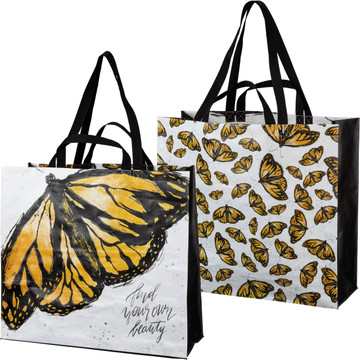 2-SIDED TOTE BAG