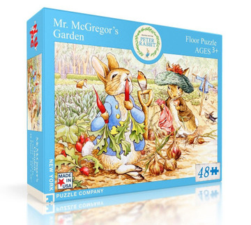 Mr. McGregor's Garden Jigsaw Puzzle 48 Piece