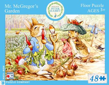Mr. McGregor's Garden Jigsaw Puzzle 48 Piece