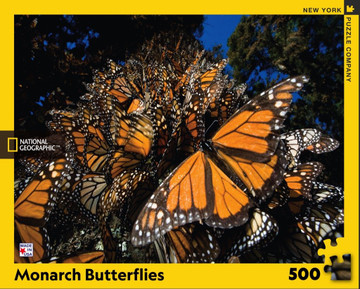 Monarch Butterflies Jigsaw Puzzle 500 Piece