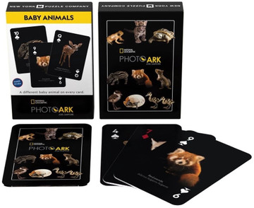 Baby Animal Playing Cards