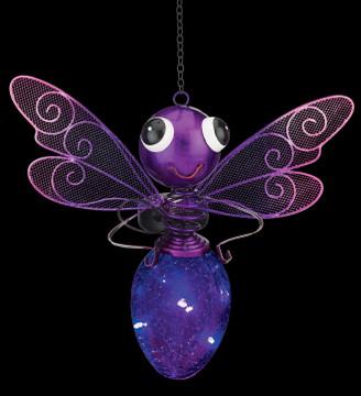 Solar Dragonfly Lantern - Purple