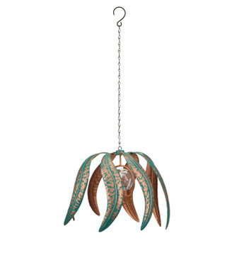 Hanging Solar Wind Spinner - Flame