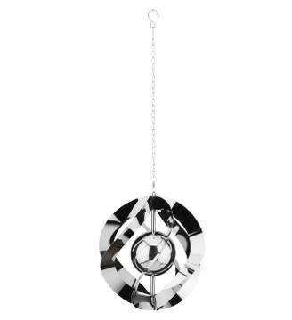 Vogue Hanging Wind Spinner - Silver