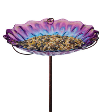 Birdbath/Feeder Stake - Honeycomb
