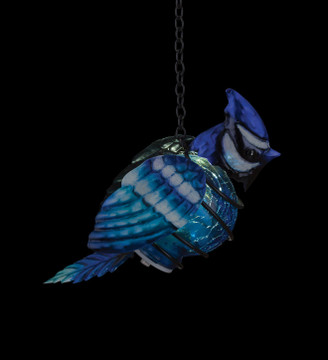 Bird Solar Lantern - Blue Jay