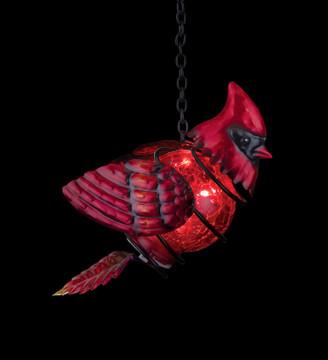 Bird Solar Lantern - Cardinal