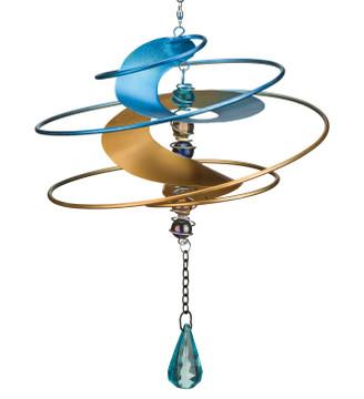 Fantasia Hanging Wind Spinner - Blue