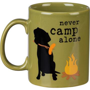 Jumbo Mug - Never Camp Alone