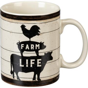 Jumbo Mug - First Coffee Then I Do Farm Things