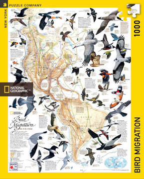 Bird Migration Jigsaw Puzzle 1000 Piece