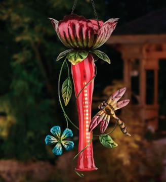 Tulip Chaser Solar Lantern - Red